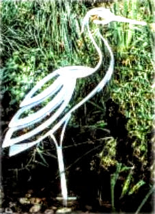 Ornament gradina Reiher