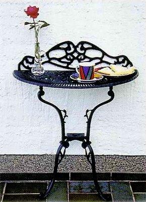 mobilier gradina Palermo negru