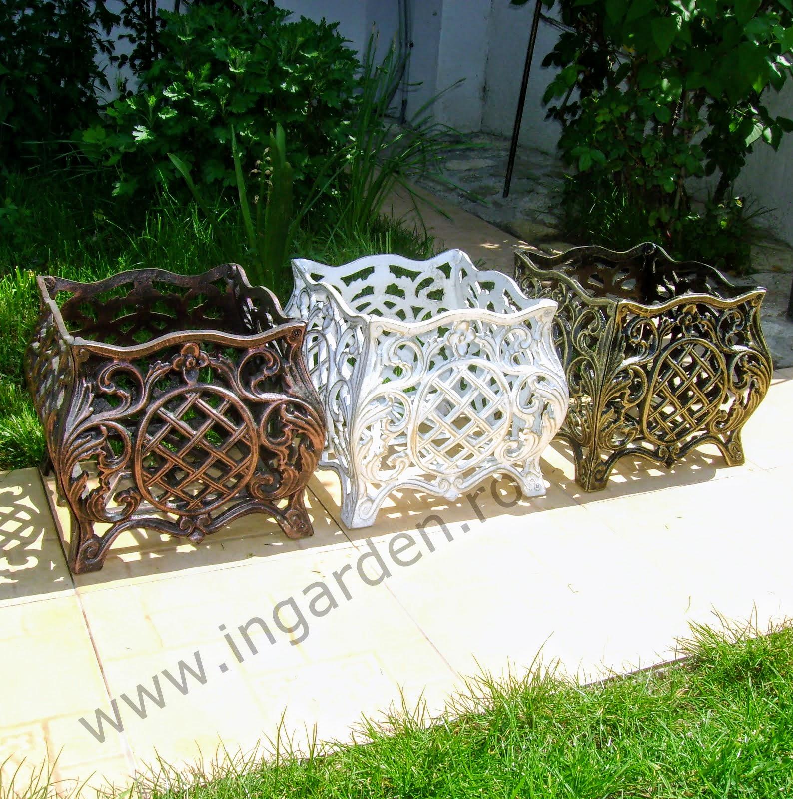 Jardiniere gradina model Bologna